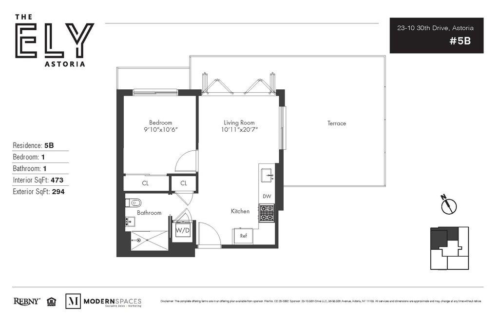 23 10 30th Drive 5d Queens Ny 11106 Queens Condos Astoria 1 Bedroom Condo For Sale