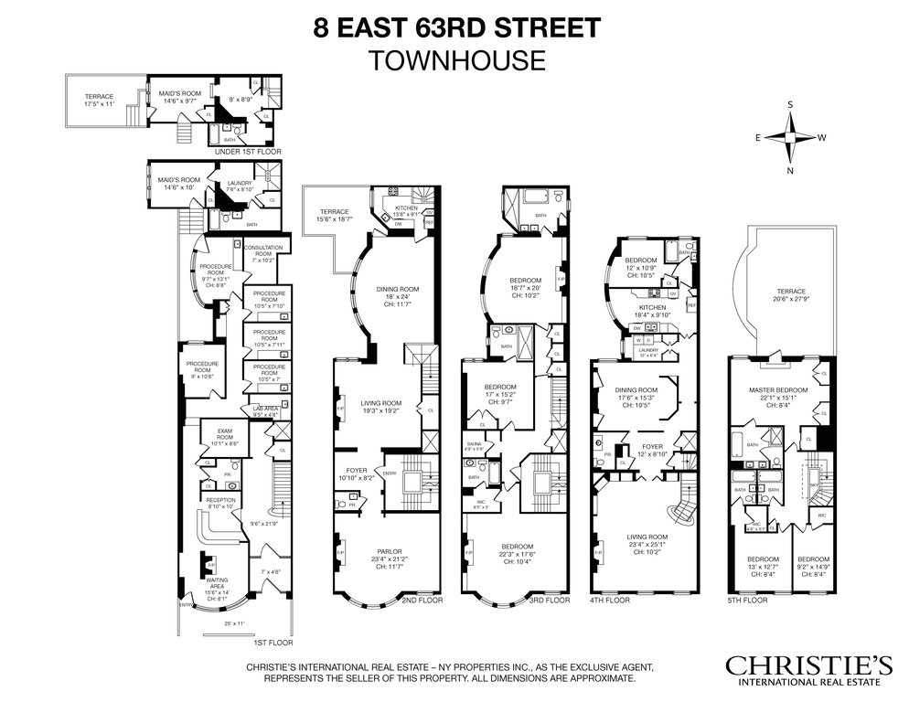 8 east 63rd street house new york ny 10065 new york townhouses First Time Real Estate Resume floor plan