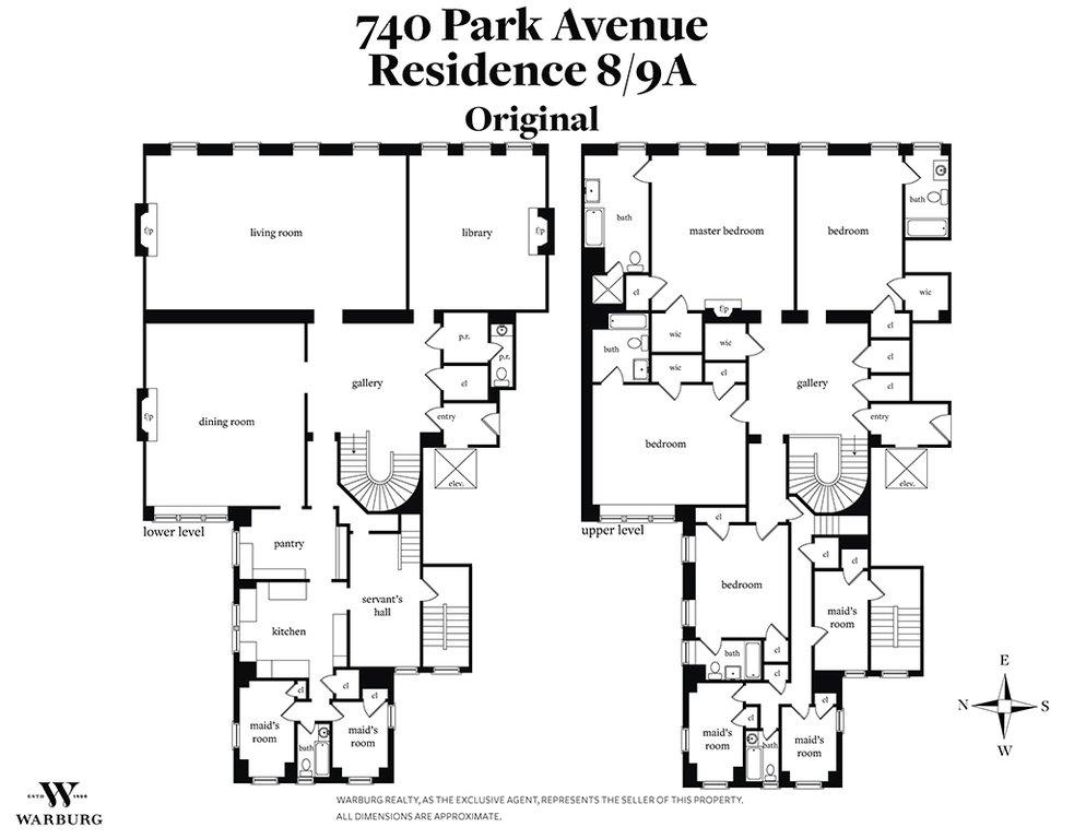 740 Park Avenue 89a New York Ny 10021 New York Coops Lenox