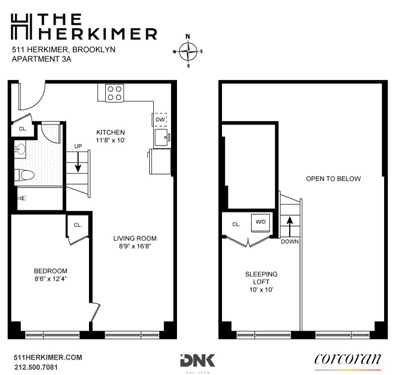 511 Herkimer Street, #3A, Brooklyn, NY 11213 | Brooklyn