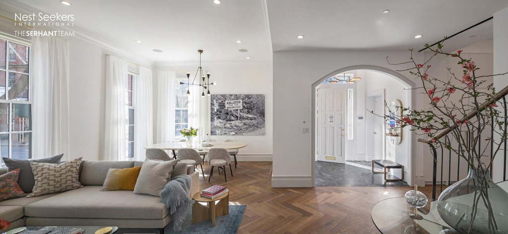 Nyc Townhouses Brooklyn Heights 6 Bedroom Townhouse For Rent
