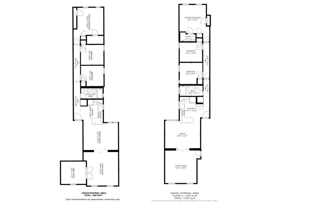 Floor Plans Combined