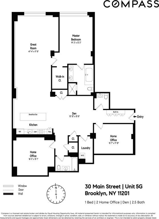 NYC Condos: Dumbo 3 Bedroom Condo for Sale
