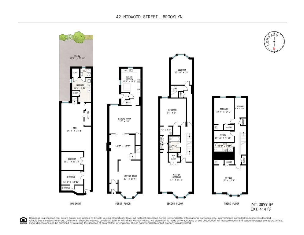 6 Townhouse in Prospect Lefferts Gardens