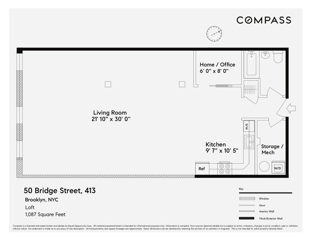 50 Bridge Street, #413, BROOKLYN, NY 11201 | Brooklyn Condos