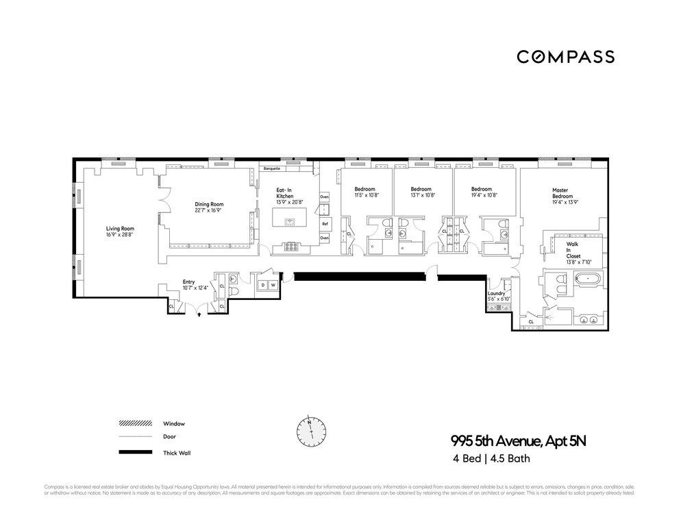 995 Fifth Avenue, #5N, New York, NY 10028 | New York Condops: Upper