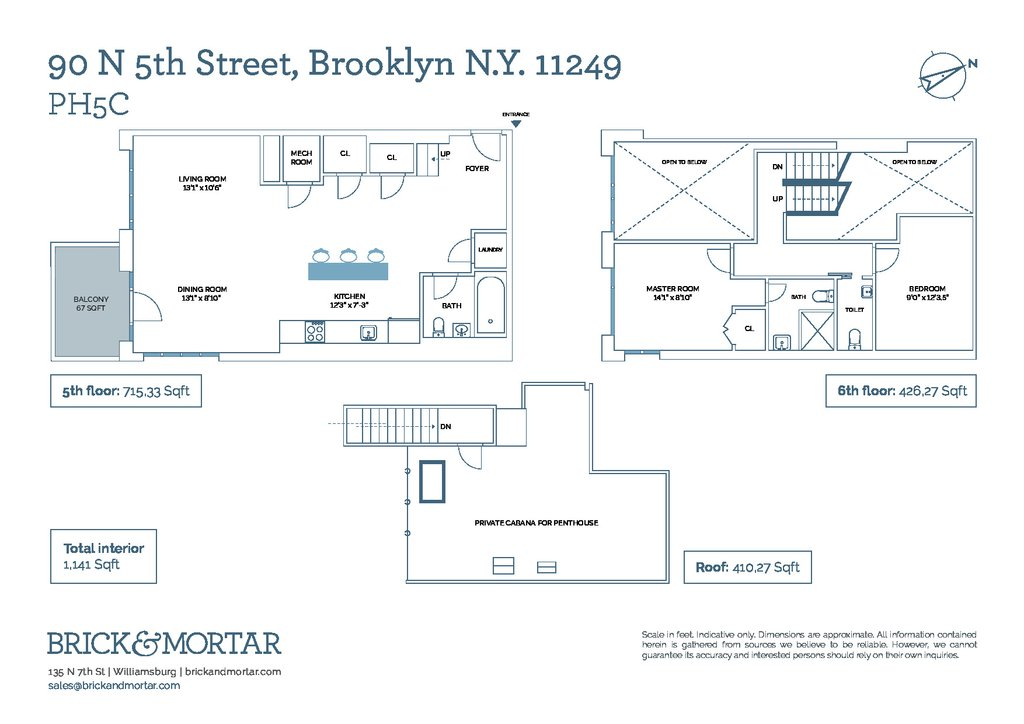 90 North 5th Street, #5C, Brooklyn, NY 11249 | Brooklyn