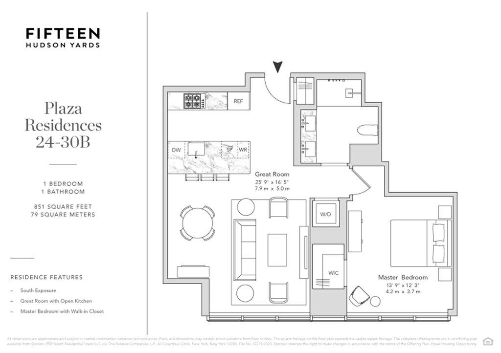 15 Hudson Yards 25b New York Ny 10001 New York Condos Hudson Yards 1 Bedroom Condo For Sale